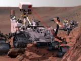 مسبار (كيوريوسيتي روفر) يهبط بسلام على كوكب المريخ