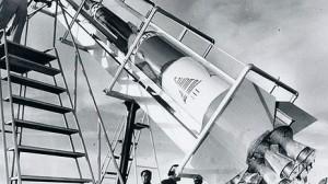 الصاروخ أرز-3 أطلق في 1962 وكان طوله 7 أمتار ووزنه 1250 كيلوغراما