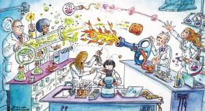 حياة المختبر: سـاحة الصـراع