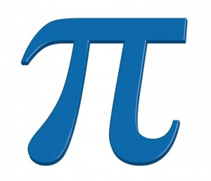 pi-blue symbol